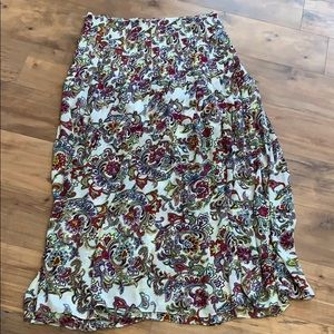 NWT banana republic paisley maxi skirt